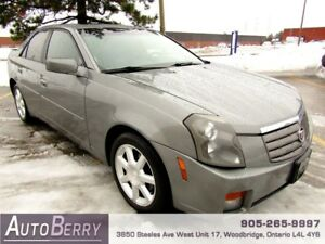 2004 Cadillac CTS *** CERTIFIED *** LOW KM $5,299