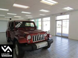 2014 Jeep Wrangler Unlimited Sahara **UNLIMITED**