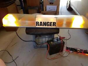 Amber Light Bar 2 Rotary + 2 Flash suitable for security, towtruc Yokine Stirling Area Preview