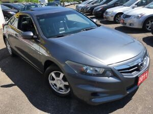 2011 Honda Accord EX-L/6-SPEED/LEATHER/SUNROOF/ALLOYS/HEATED SEA