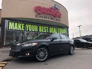 2014 Ford Fusion SE P-ROOF REAR CAM H-TED SEATS BTOOTH