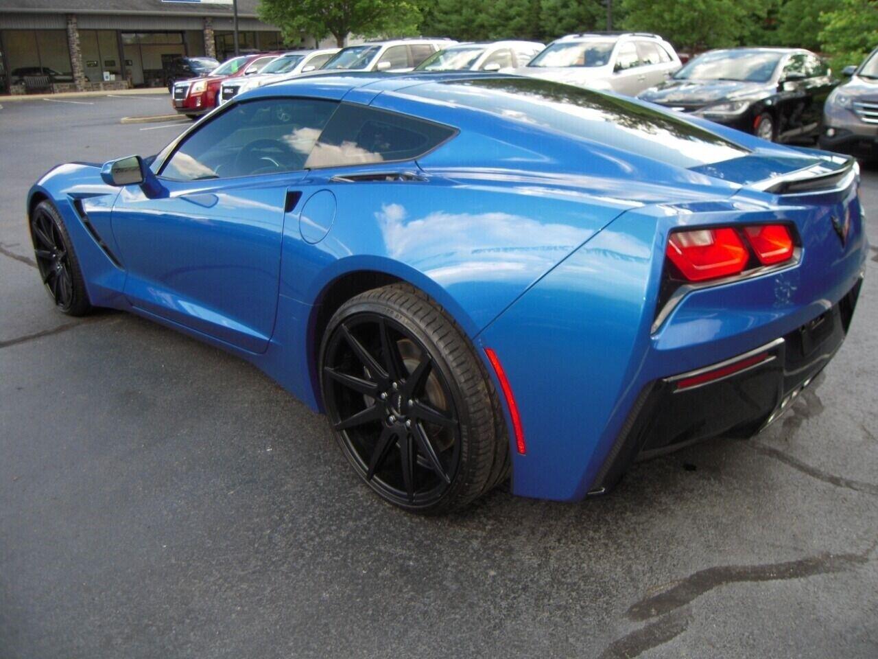 2014 Blue Chevrolet Corvette  1LT | C7 Corvette Photo 3
