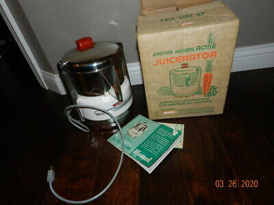 ACME SUPREME JUICERator (Model: 6001) Stainless Steel Commercial Juicer
