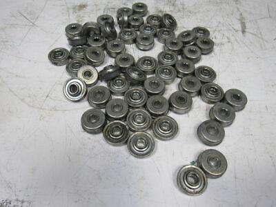 Conveyor Roller Bearings 0.451 Hex Id 1-12 Dia. 1-58 Flange Lot Of 55