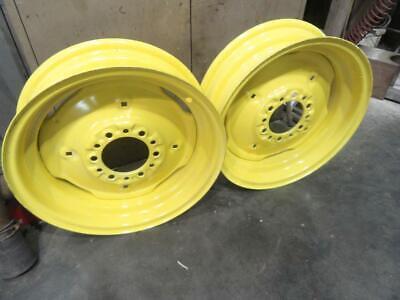 John Deere 18 In Front Tractor Rims Standard Treads 60 70 620 630 720 730 Jd1276