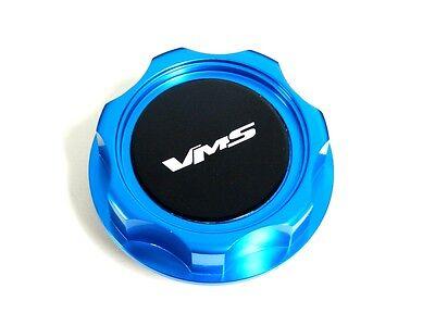 RADIATOR CAP COVER FOR 13-16 SCION FRS BK VMS RACING BLUE ENGINE OIL CAP
