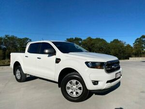 2019 Ford Ranger PX MkIII 2019.00MY XLS White 6 Speed Manual Double Cab Pick Up Cooroy Noosa Area Preview