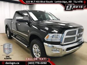 2015 RAM 3500 Laramie DIESEL, HEATED/COOLED LEATHER