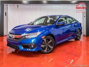 2016 Honda Civic Touring **  PNEUS ÉTÉ SUR JANTES &  HIVER  RIMÉ