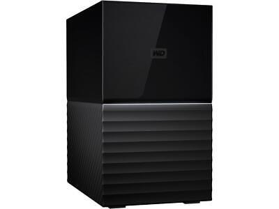 WD My Book Duo 8TB USB 3.1 External Hard Drive WDBFBE0080JBK-NESN Black