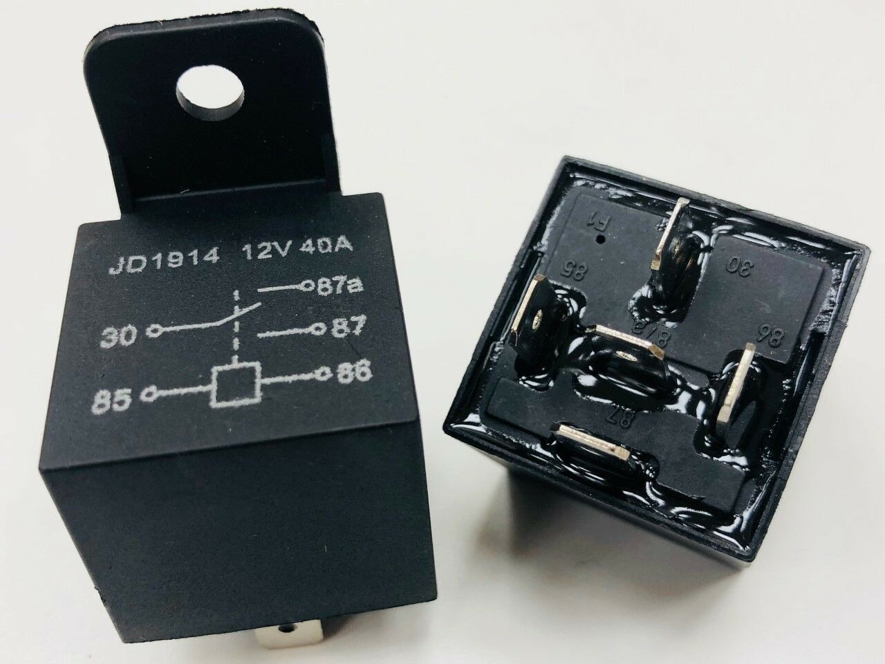 12V 40 Amp Relay 5 Pin Best Quality Waterproof Automotive ...