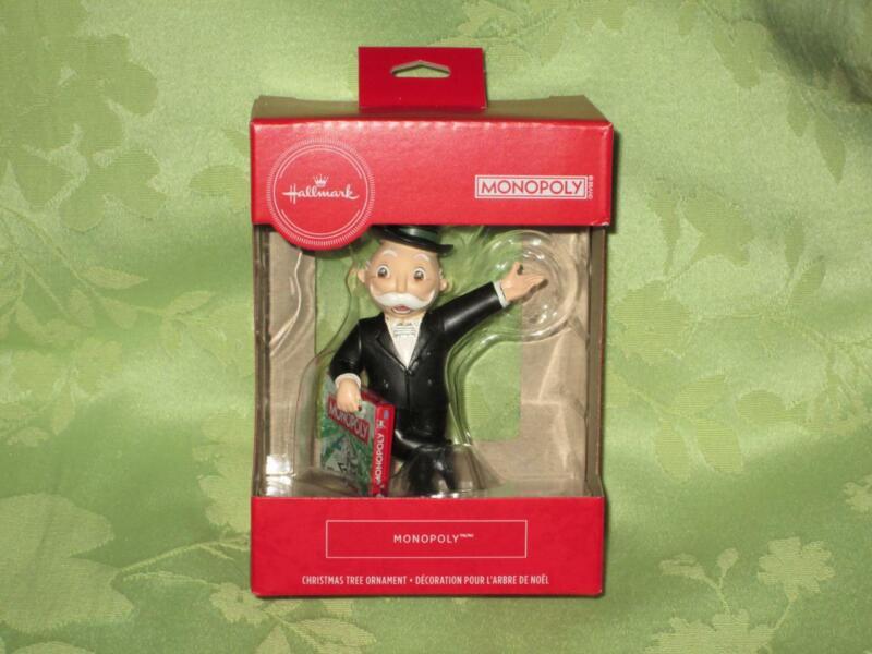 Hallmark 2020 MR. MONOPOLY Red Box Ornament free shipping
