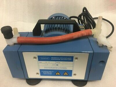 Vacuubrand Me 4c Diaphragm Vacuum Pump Max 3.9 M3h Very Good Condition.