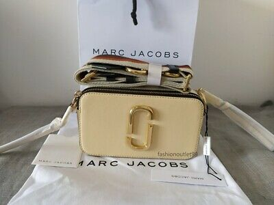 sales MARC JACOBS  Snapshot Small Camera Bag  light beige  multi hot