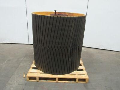 Ppi 42w X 41d Conveyor Drum Drive Pulley Wherring Bone Lagging 7 Bore
