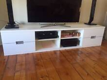 White TV Cabinet with Drawers Albert Park Port Phillip Preview