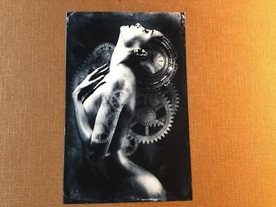 Dreams Up J Edwards Original Art Tintype Limited Series From Artist C037
