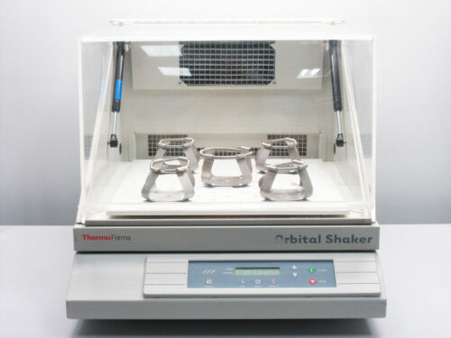 THERMO FORMA 420 ORBITAL INCUBATOR SHAKER 25 TO 525 RPM HEATED AMBIENT TO 80 °C