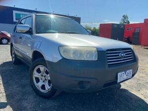 2005 Subaru Forester MY06 X Silver 4 Speed Auto Elec Sportshift Wagon Hoppers Crossing Wyndham Area Preview
