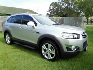 2013 Holden Captiva CG MY13 7 AWD LX Silver 6 Speed Sports Automatic Wagon Kippa-ring Redcliffe Area Preview