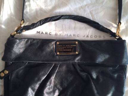 Marc by Marc Jacobs leather bag- Classic Q Huge Hillier black bag Salter Point South Perth Area Preview