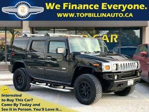2005 Hummer H2 Black on Black, 2 Years Warranty