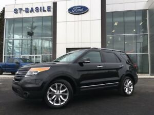 2014 Ford Explorer Limited / Cuir / Toit Ouvrant Only 58000km /