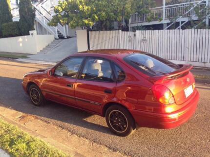 2001 Toyota Corolla SPOTLESS NANNA OWNER Woolloongabba Brisbane South West Preview