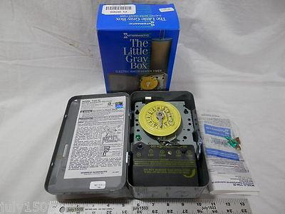 1 New Intermatic T104-20 Mechanical Timer 208240 Volt Dpst Waterheater Pool