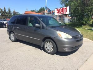 2004 Toyota Sienna 8 PASSENGERS,SAFETY+3YEARS WARRANTY INCLUDED