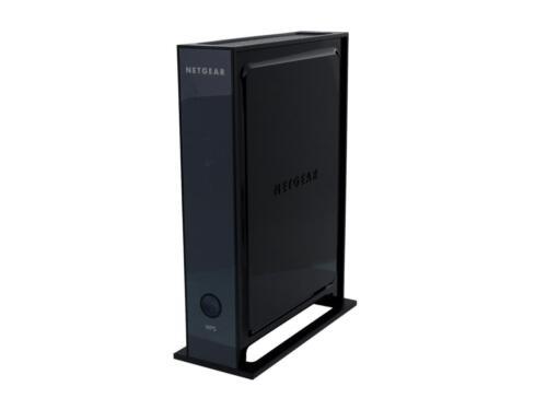 NETGEAR Universal Wi-Fi Range Extender with 4-port Ethernet Switch Black WN2000RPT-100NAS