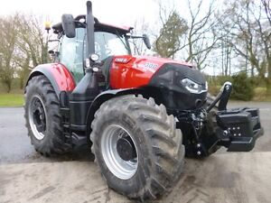 Case IH Optum 300 50k CVT suspension fully loaded