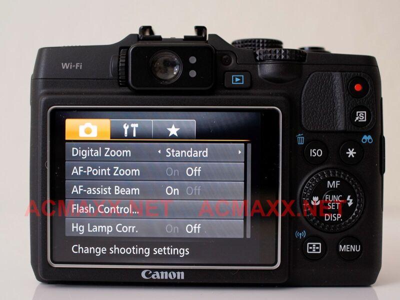 "ACMAXX 3.0"" HARD LCD ARMOR SCREEN PROTECTOR for Canon PowerShot G16 G 16 camera"