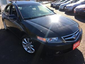 2008 Acura TSX Auto / Navigation / Leather / Alloys / Sunroof