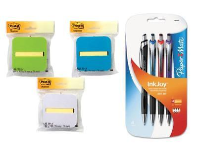 Post-it Pop-up Notes Dispenser With Yellow Notes 4 Pcs Ballpoint