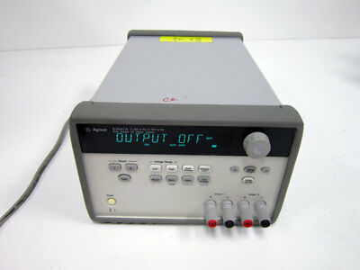 Agilent E3647a Dual Output Dc Power Supply 0-35v 0.8a 60v 0.5a Hp Keysight