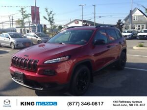 2016 Jeep Cherokee Sport- $189 B/W LOW KMS...V6...AWD..BLUETOOTH