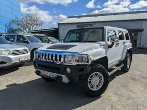 2008 Hummer H3 Luxury White 4 Speed Automatic Wagon Fyshwick South Canberra Preview
