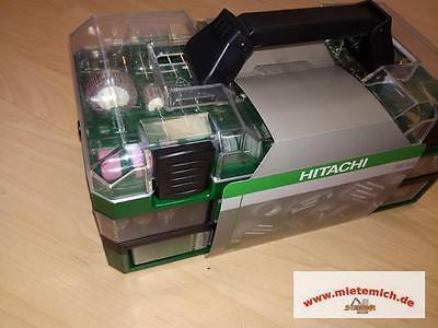 Hitachi 389 tlg.Bohrer Set + Werkzeugkoffer für Geradschleifer Art.Nr.753949 NEU