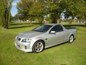 2010 HOLDEN VE COMMODORE SV6 UTE, SiDi V6 AUTO Holbrook Greater Hume Area Preview