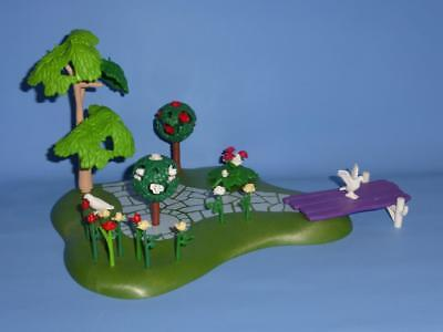 Playmobil Palace / House Garden with Flowers Tree & More  Fantasy Scenery
