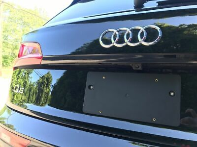 Rear License Plate Bracket for AUDI Q5 SQ5 2009-2020 + Screws + Wrench Brand (Frames Styles 2016)