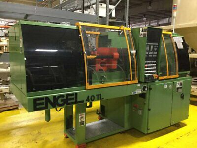 Engel 40 Ton Injection Mold Machine Es8040tl-1.6 Used 95899