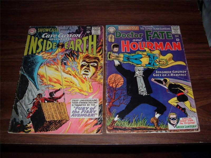 Showcase 49,  64, 82, 83, 84----lot of 5 Silver Age comic books