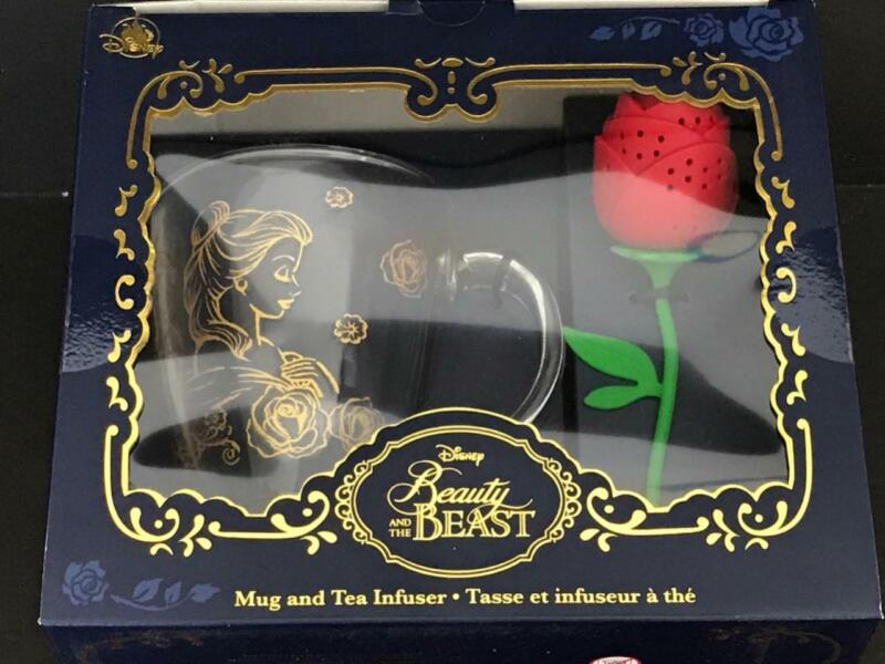 Disney Beauty and the Beast Collection Mug and Rose Tea Infuser