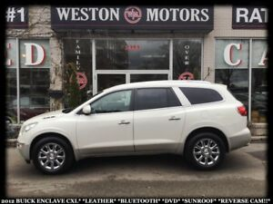 2012 Buick Enclave CXL*LEATHER*BTOOTH*DVD*SUNROOF*REVERSE CAM!!*