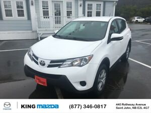 2014 Toyota RAV4 LE LOW KMS...ALL WHEEL DRIVE..BLUETOOTH..CRUISE
