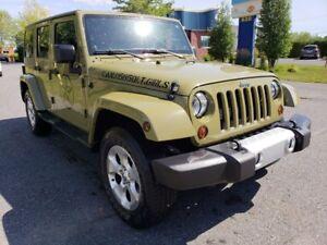 2013 Jeep Wrangler Unlimited SAHARA - NAV / GPS - 4X4 - HITCH -