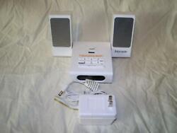 iHome 2go Portable Speaker Travel Alarm Clock USB Audio Dock - iHome iH18