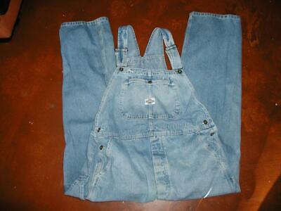 Vintage Overalls & Jumpsuits Lee Dungarees Denim Jean Overalls Bibs Size L Carpenter Work Men Women Unisex $36.95 AT vintagedancer.com